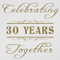 Celebrating 30 Years Together