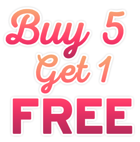 Buy 5 Get One Free Specials