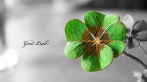 Good Luck Green Flower